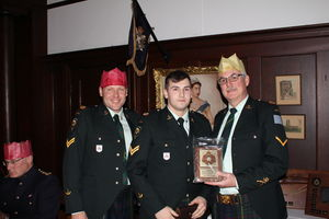 Cpl Mulholland - CO's Commendation Award