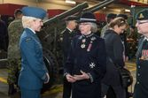 LG with OC Air Cadets & HCol 5 Fd