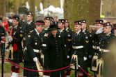 Princess Alexandra and HCol Talbot Inspecting the Troops Apr 2015 London