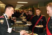 Xmas Dinner Nanaimo 2015 - Snr NCO's, Officers and Regimental Association serving the troops..