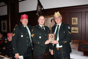MCpl Chalmers - CO's commendation award