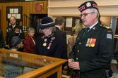 LG with CO CScotR LCol Sawyer in the CScot Museum