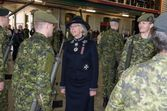 LG Inspecting Troops with Guard Comd Sgt Nault
