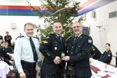Xmas Dinner Nanaimo 2015 - MCpl MacPherson promoted to Sgt