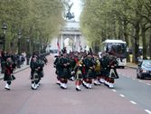 The Band on Parade London Apr 2015